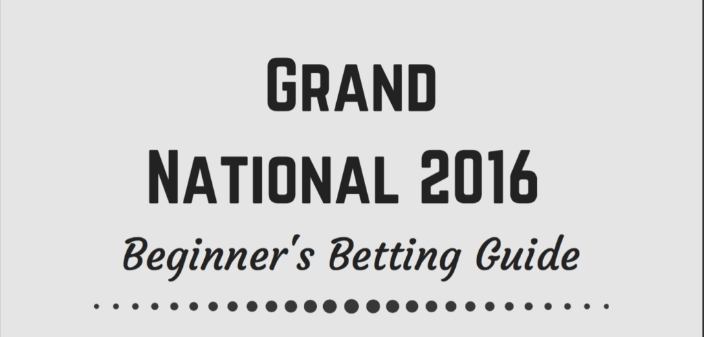 Grand National Beginner's Betting Guide