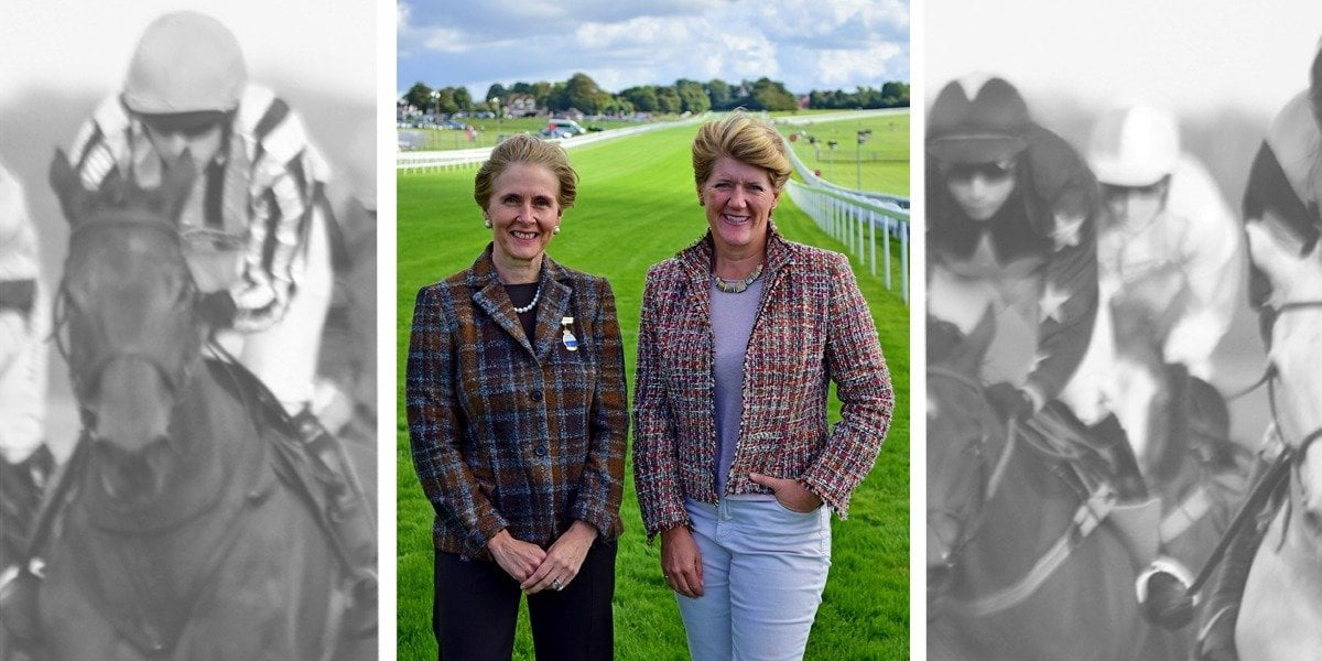 First time racing, Clare Balding