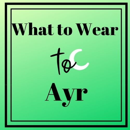 What to wear to Ayr Racecourse