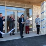 New Dales Stand at Catterick opened by Rishi Sunak
