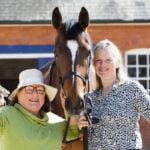 Aparamancer visits Emma Lavelle's yard to make summer predictions