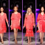 Omar Mansoor Cruise Collection at The Top Model Fashion Event